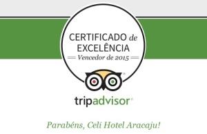 TripAdvisor confere ao Celi Hotel o certificado de excelência